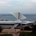 Milwaukee's Calatrava -- A Nelson Bros. & Strom project in the process