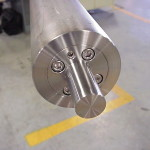 New Roller End After Repair from Nelson Bros. and Strom