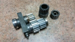 Rush Job Gear Parts
